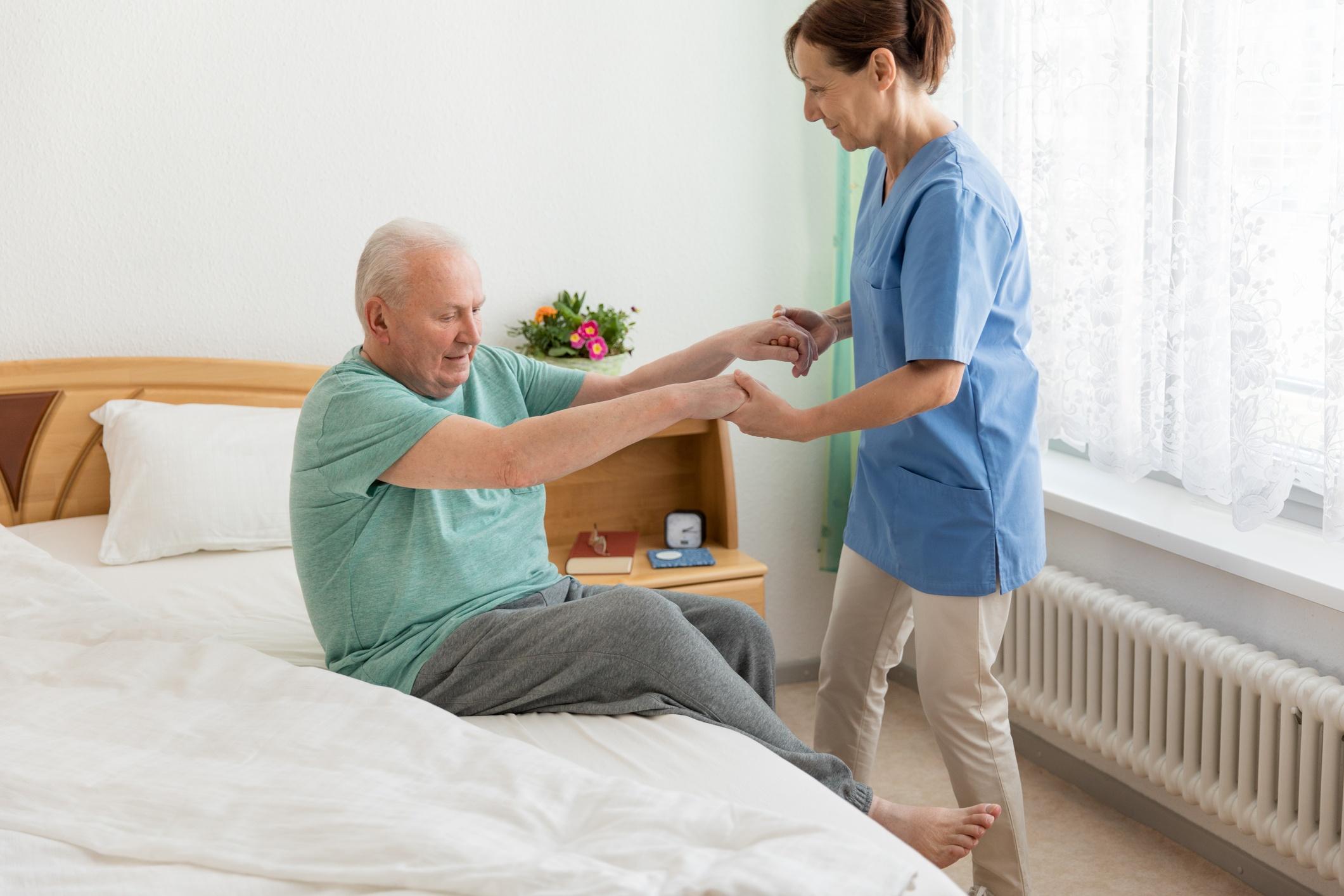 Pflege und Betreuung zu Hause Foto