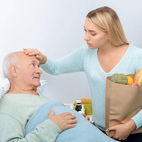 Pflege durch Angehörige