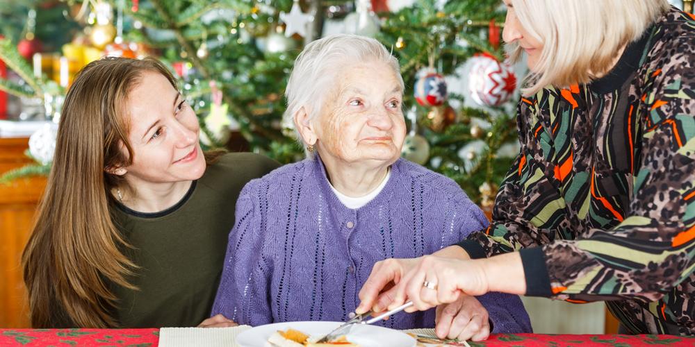 Weihnachten mit Demenzkranke